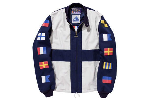 XLarge x Mighty-Mac Flag Boat Jacket