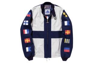 XLarge x Mighty-Mac Flag Boat Jacket