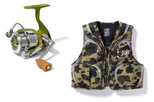 "A Bathing Ape x DAIWA ""A Fishing Ape"""