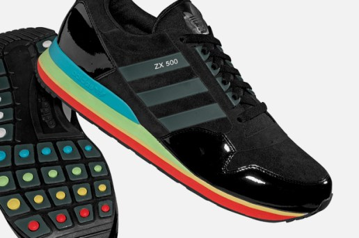 "adidas Originals adiGame ZX 500 ""ZX Runner"" & Video Game"