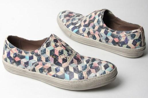 Alexander McQueen Calamity Patchwork Print Sneakers