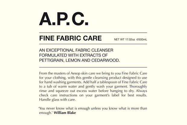 A.P.C. Fabric Detergent