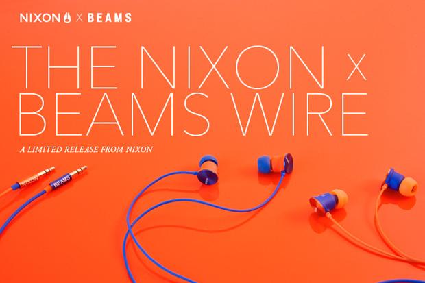 BEAMS x Nixon The Wire Earphones