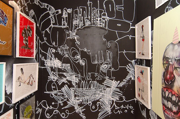 "David Choe ""Character Assassination"" Exhibition Recap"