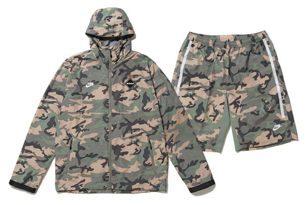F.C.R.B Camouflage Training Jacket and Shorts