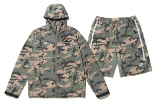 F.C.R.B Camouflage Training Jacket and Shorts