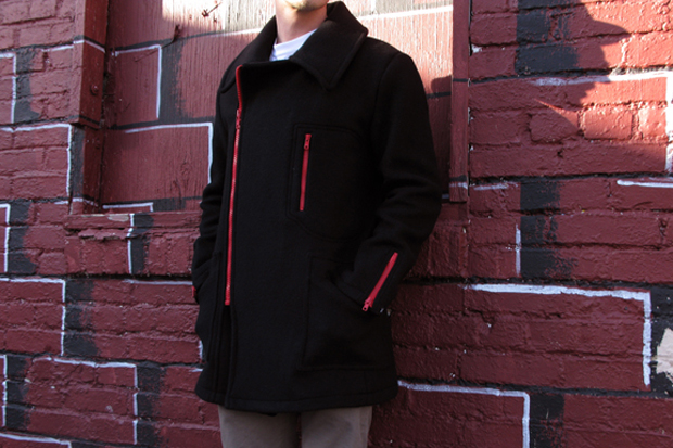 Feal Mor Wool Zip Coat