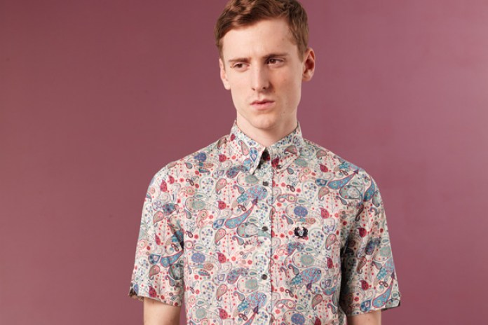 Fred Perry for Liberty 2010 Blank Canvas Collection