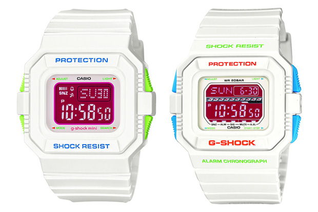 G-Shock 2010 Valentine's Day 'Precious White' Pack
