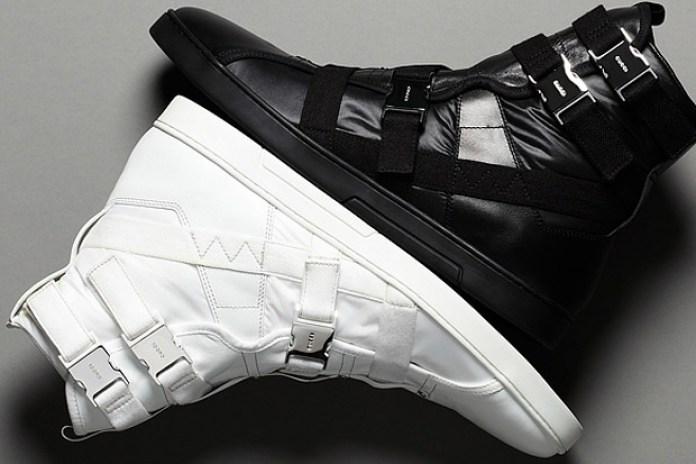 Gucci Hi Top Strap Sneakers