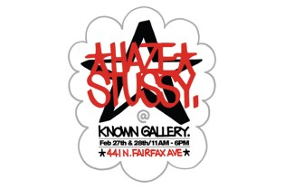 Haze x Stussy Exhibition at Known Gallery