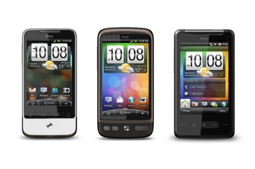 HTC Legend, Desire & HD Mini