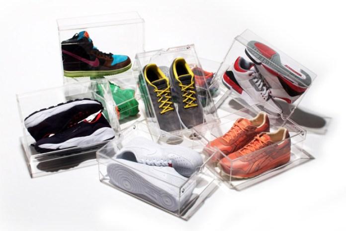 HUPBOX v1 Clear Shoe Box