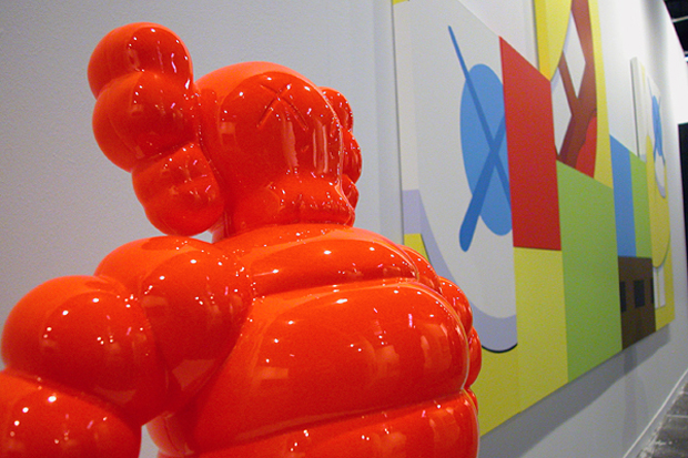 KAWS Installation @ ARCO Madrid