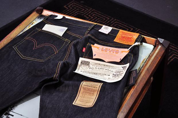 Levi's Vintage Clothing 1944 501 Rigid Denim