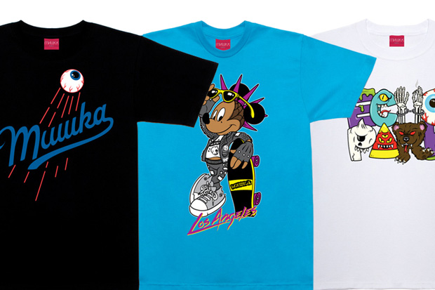 Mishka Los Angeles Store Exclusive T-shirts