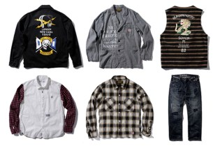 """NEIGHBORHOOD 2010.1ST EX SERIES """"THE MAGNIFICENT SEVEN"""" Collection March Releases"""