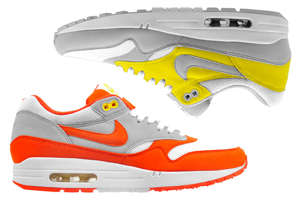 Nike Air Max 1 Orange & Yellow Colorways