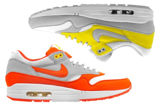 Nike Air Max 1 Orange & Yellow Colorways