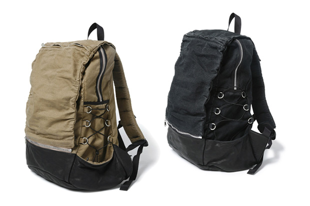 nonnative COURIER 2WAY BACK PACK / COTTON CANVAS