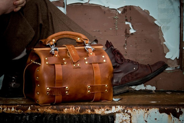 Palmer & Sons Leather Gladstone No 10 XS Carryall Bag