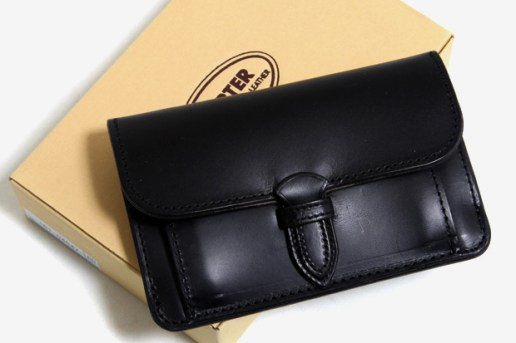 Porter 2010 Spring Vegetable Tanned Leather Wallets