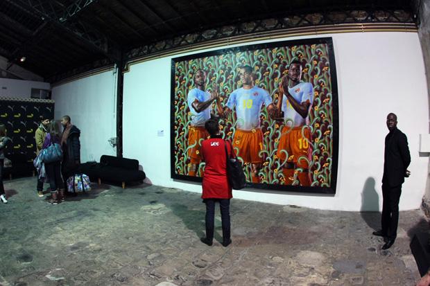 PUMA x Kehinde Wiley Paris Exhibition Recap