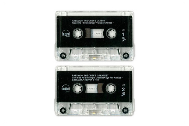 Raekwon The Chef – Latest & Greatest Hits Promo Cassette (1995)
