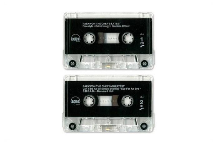 Raekwon The Chef – Latest & Greatest Hits Promo Cassette (1995)