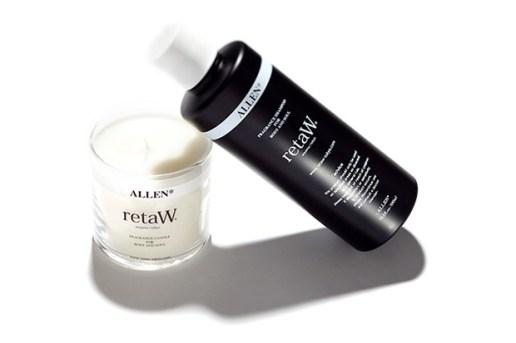 retaW Allen Candle and Body Shampoo