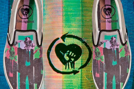 Rise Against x Vans 2010 Spring/Summer Slip On