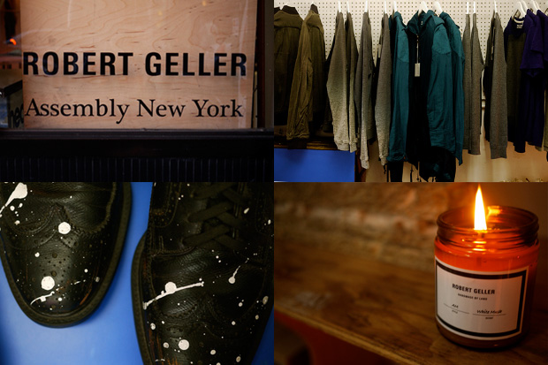 Robert Geller x Assembly New York Pop Up Shop