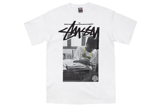 Stones Throw x Stussy J-Dilla Tee