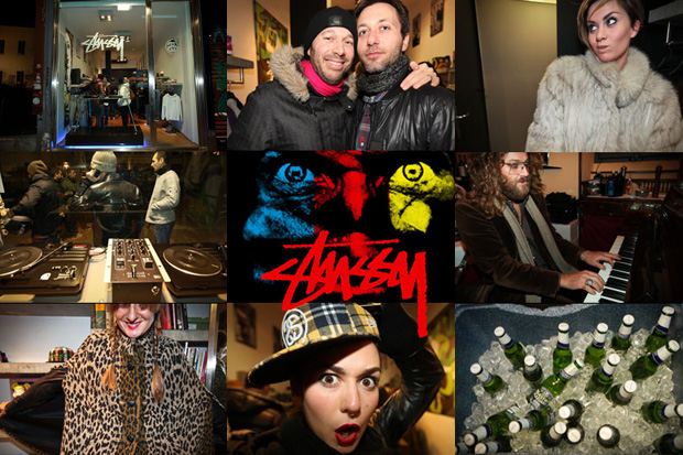 Stussy 30th Anniversary Party Milan