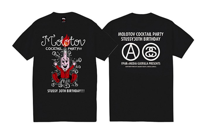 Stussy 30th Anniversary XXX T-Shirt Collection Group 1
