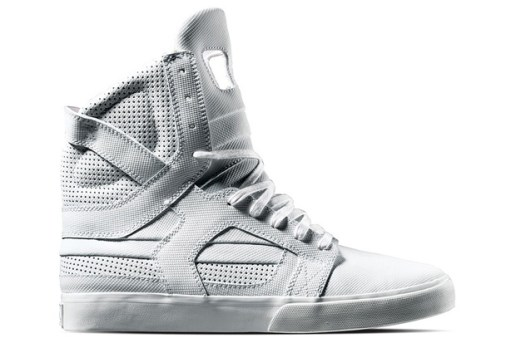 Supra TUF 2010 Spring Collection White Skytop II
