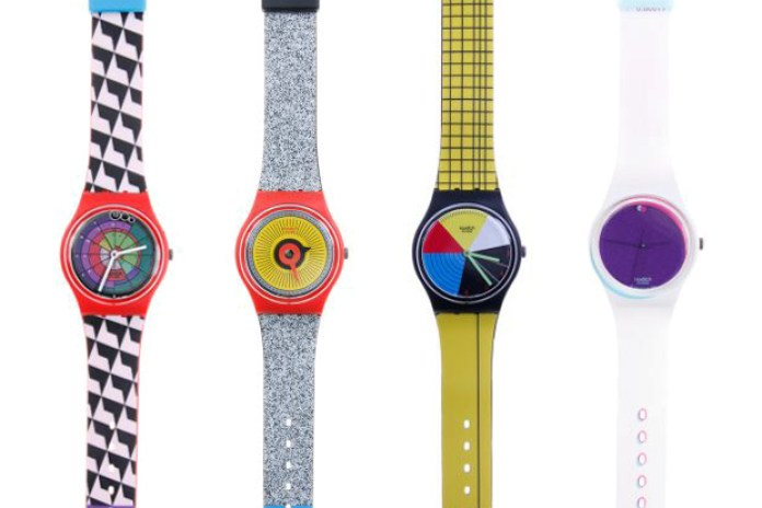 Swatch Color Codes Watch Collection