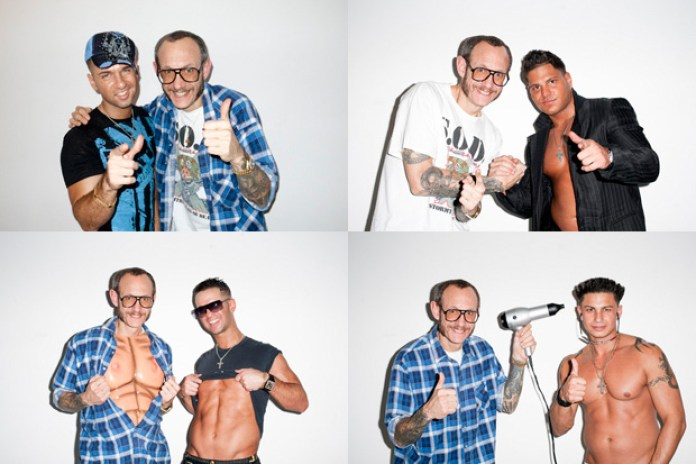 Terry Richardson x The Jersey Shore Photoshoot