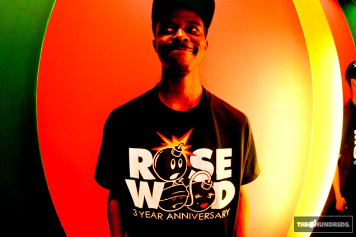 The Hundreds Rosewood 3rd Anniversary T-shirt