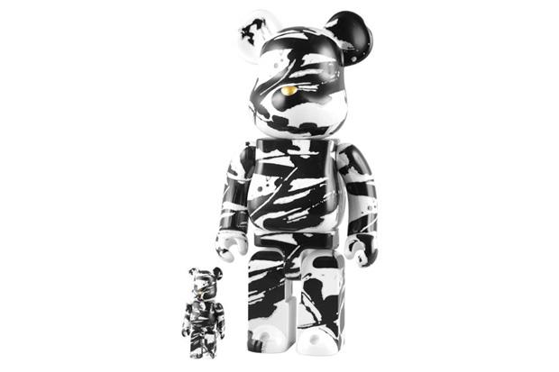 Tomakazu Matsuyama x Medicom Toy 100% & 400% Bearbricks