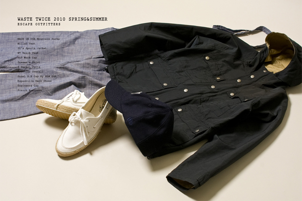 waste(twice) 2010 Spring/Summer Collection