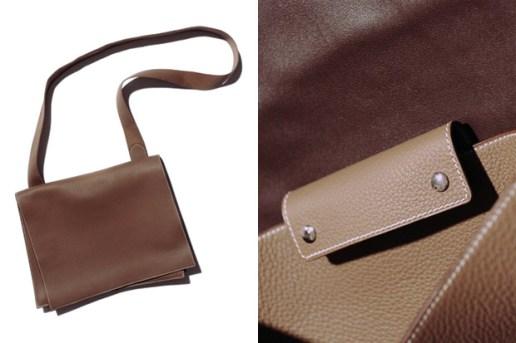 Yohji Yamamoto x Hermes Leather Bag