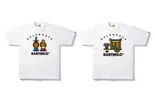 "A Bathing Ape Milo Doll ""Hinamatsuri"" T-shirt"