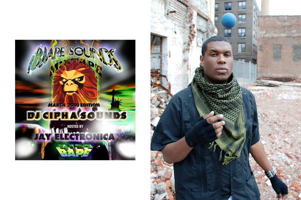 BAPE® TAPE March 2010 featuring Jay Electronica