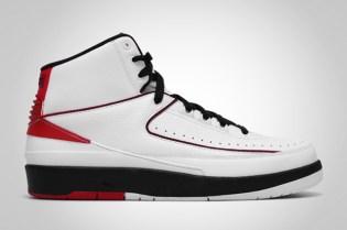Air Jordan 2 Retro White/Black-Varsity Red