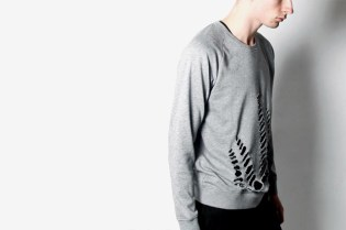 Ann-Sofie Back x Cheap Monday Grey Cut Out Sweater