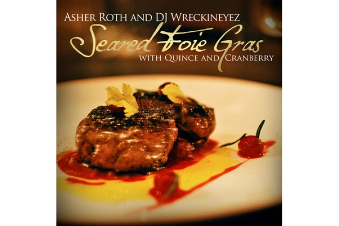 Asher Roth – Seared Foie Gras with Quince & Cranberry (Mixtape)