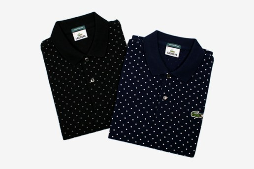 Beauty & Youth x Lacoste Polka Dot Polo