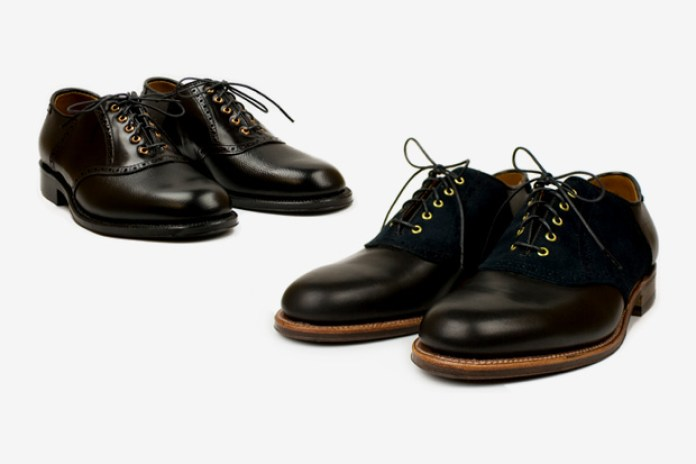 Blackbird x Alden Frank Osgood Series Saddle Shoes