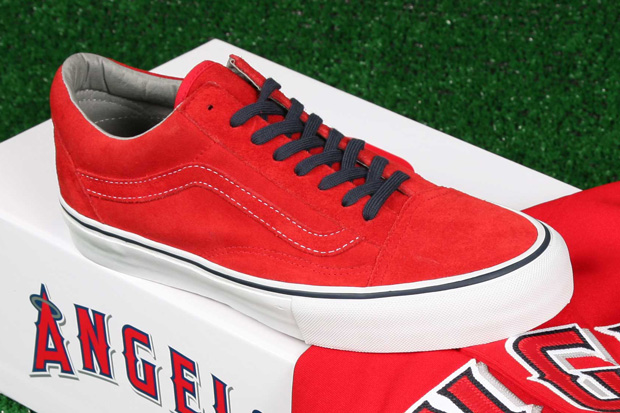 Vans Vault x MLB Los Angeles Angels of Anaheim Old Skool LX for Blends